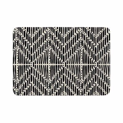 DLKG Design Tribal Drawings Memory Foam Bath Rug Size: 0.5 H x 24 W x 36 D