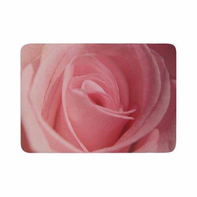 Angie Turner Soft Rose Memory Foam Bath Rug Size: 0.5 H x 17 W x 24 D