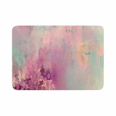Geordanna Fields Serene Nebula Painting Memory Foam Bath Rug Size: 0.5 H x 24 W x 36 D