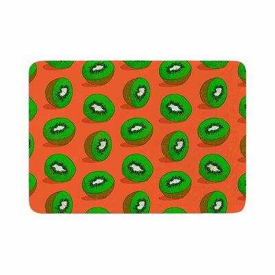 Evgenia Kiwifruit Memory Foam Bath Rug Size: 0.5 H x 24 W x 36 D