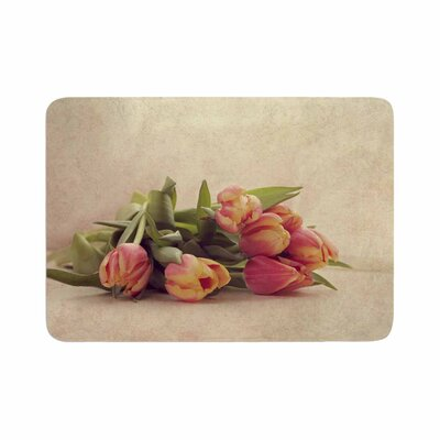 Angie Turner Delicate Spring Photography Memory Foam Bath Rug Size: 0.5 H x 17 W x 24 D
