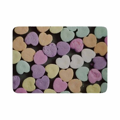 Cristina Mitchell Candy Love Photography Memory Foam Bath Rug Size: 0.5 H x 17 W x 24 D