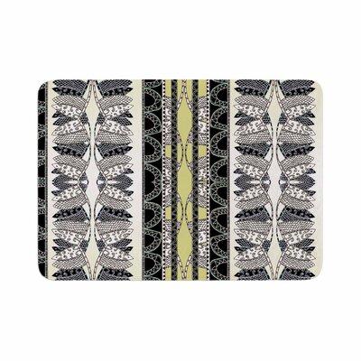 Fernanda Sternieri Oriental Stripes Digital Memory Foam Bath Rug Size: 0.5 H x 24 W x 36 D