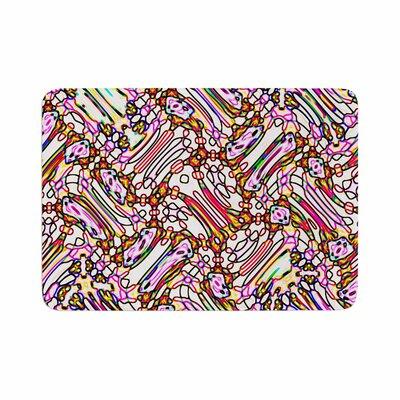 Dawid Roc Camouflage Pattern 3 Memory Foam Bath Rug Size: 0.5 H x 24 W x 36 D