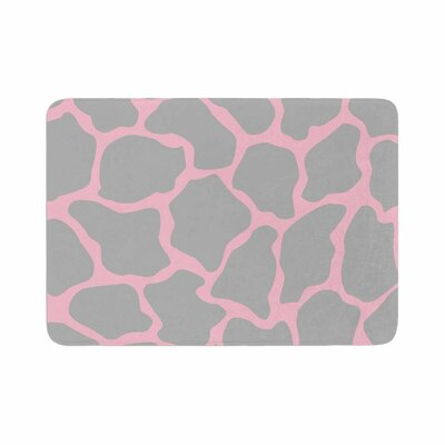 Wildlife Animal Print 9 Digital Memory Foam Bath Rug Size: 0.5 H x 24 W x 36 D