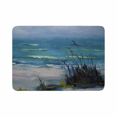 Carol Schiff Sanibel Painting Memory Foam Bath Rug Size: 0.5 H x 17 W x 24 D