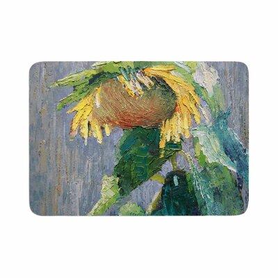 Carol Schiff Lonely Sunflower Memory Foam Bath Rug Size: 0.5 H x 24 W x 36 D