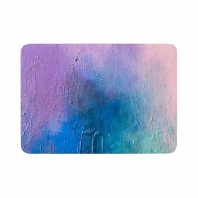 Geordanna Fields Clarity Painting Memory Foam Bath Rug Size: 0.5 H x 17 W x 24 D