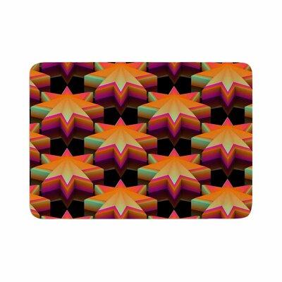 Danny Ivan Stars Pattern Memory Foam Bath Rug Size: 0.5 H x 17 W x 24 D