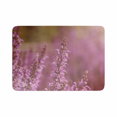 Angie Turner Growing Wild Memory Foam Bath Rug Size: 0.5 H x 24 W x 36 D