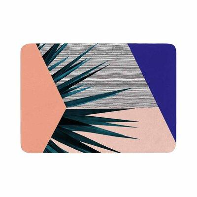Cafelab Summer Geometry Memory Foam Bath Rug Size: 0.5 H x 17 W x 24 D
