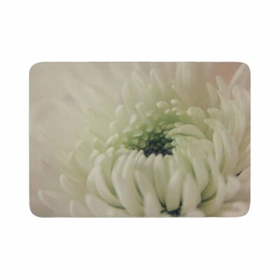 Angie Turner Pure Petals Floral Memory Foam Bath Rug Size: 0.5 H x 17 W x 24 D