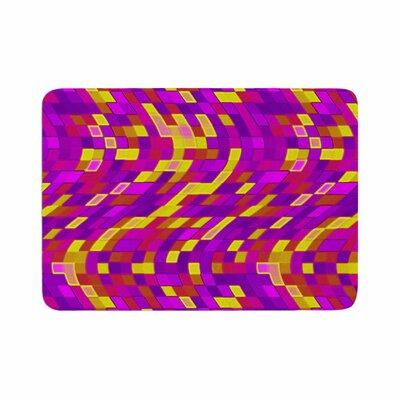 Artist Name Geometric Movement Tags Memory Foam Bath Rug Size: 0.5 H x 17 W x 24 D