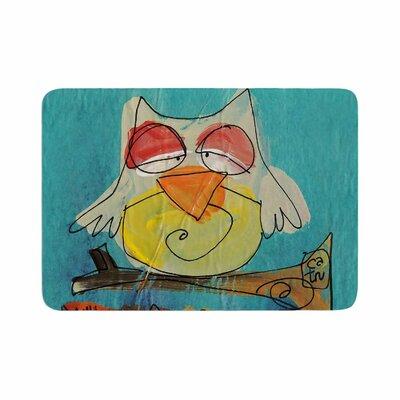 Carina Povarchik Urban Owl Kids Memory Foam Bath Rug Size: 0.5 H x 24 W x 36 D