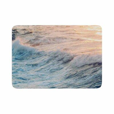 Sherbert Ocean Memory Foam Bath Rug Size: 0.5 H x 17 W x 24 D