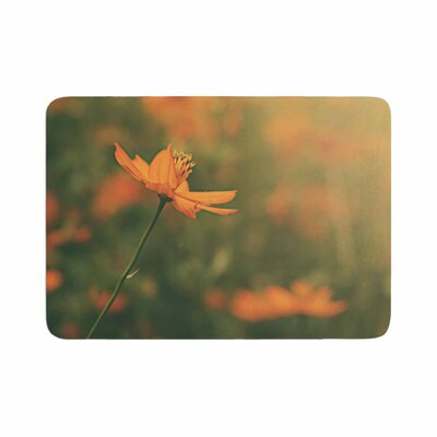 Angie Turner Cosmo Digital Floral Memory Foam Bath Rug Size: 0.5 H x 17 W x 24 D