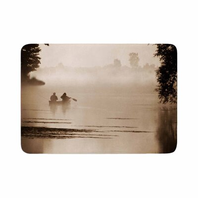 Angie Turner Misty Morning Memory Foam Bath Rug Size: 0.5 H x 17 W x 24 D