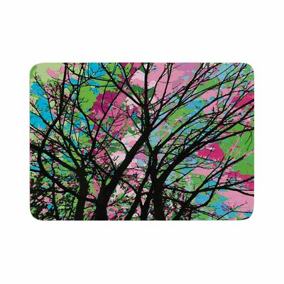 Empire Ruhl Tree of Spring 2 Memory Foam Bath Rug Size: 0.5 H x 17 W x 24 D