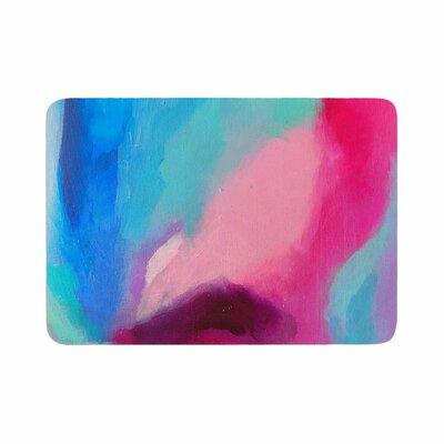 Geordanna Fields Sabras Painting Memory Foam Bath Rug Size: 0.5 H x 17 W x 24 D