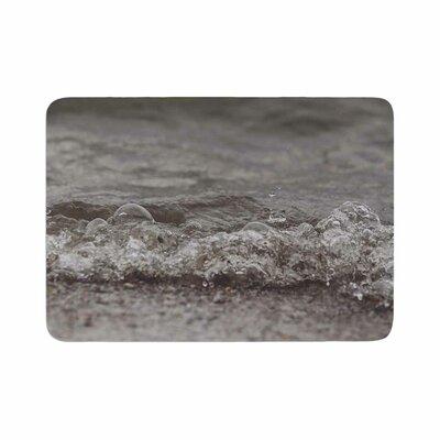 Angie Turner Beach Bubbles Coastal Memory Foam Bath Rug Size: 0.5 H x 17 W x 24 D