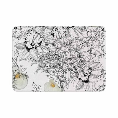 Danii Pollehn Finebuqet Memory Foam Bath Rug Size: 0.5 H x 24 W x 36 D