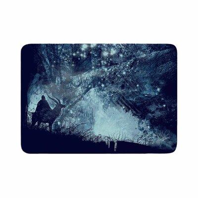 Frederic Levy Hadida Forest Spirit Rising Memory Foam Bath Rug Size: 0.5 H x 17 W x 24 D
