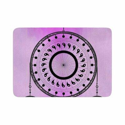 Fotios Pavlopoulos Bohemian Dream Catcher Memory Foam Bath Rug Size: 0.5 H x 24 W x 36 D