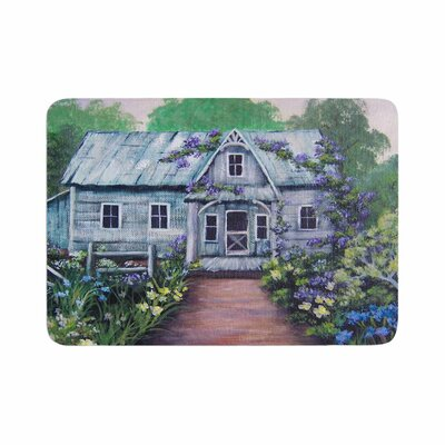 Cyndi Steen Ivy Cottage Again Memory Foam Bath Rug Size: 0.5