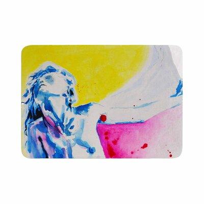 Cecibd Painful Love Memory Foam Bath Rug Size: 0.5 H x 17 W x 24 D