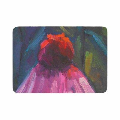 Carol Schiff Shady Coneflower Memory Foam Bath Rug Size: 0.5 H x 17 W x 24 D