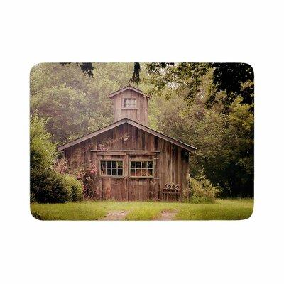 Angie Turner Shabby Elegance Barn Photography Memory Foam Bath Rug Size: 0.5 H x 17 W x 24 D