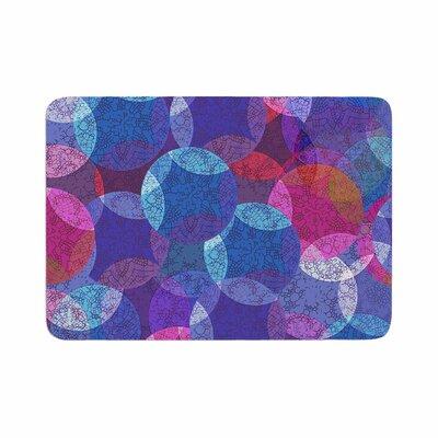 Fernanda Sternieri Mandala Abstract Memory Foam Bath Rug Size: 0.5 H x 17 W x 24 D