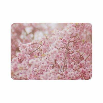 Debbra Obertanec Springs Floral Digital Memory Foam Bath Rug Size: 0.5 H x 24 W x 36 D