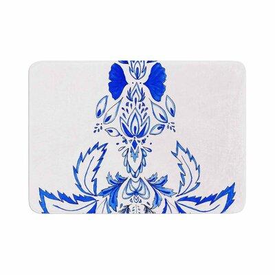 Cecibd Azulejo Memory Foam Bath Rug Size: 0.5 H x 17 W x 24 D