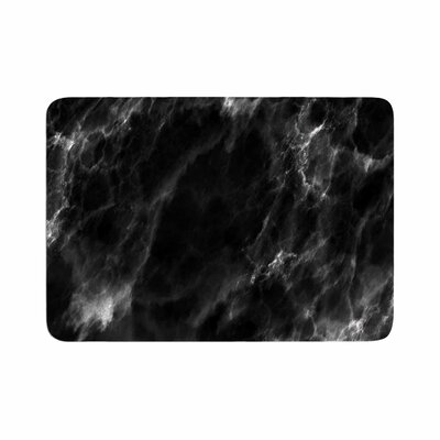 Chelsea Victoria Marble Modern Memory Foam Bath Rug Size: 0.5 H x 17 W x 24 D