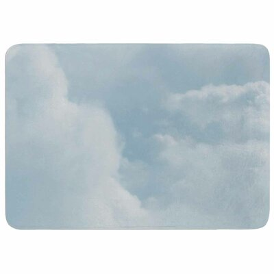 Chelsea Victoria Blue Afternoon Memory Foam Bath Rug