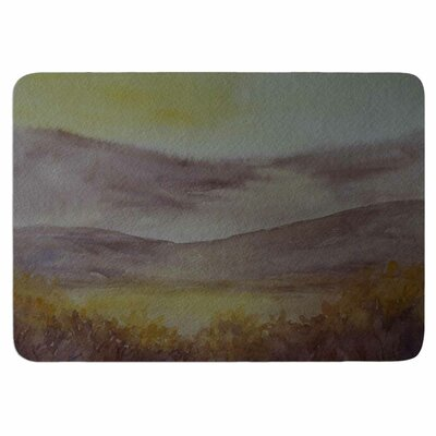 Cyndi Steen Mauve Sunset Memory Foam Bath Rug