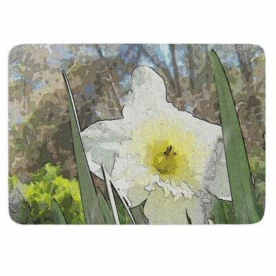 Cyndi Steen Daffodil Memory Foam Bath Rug