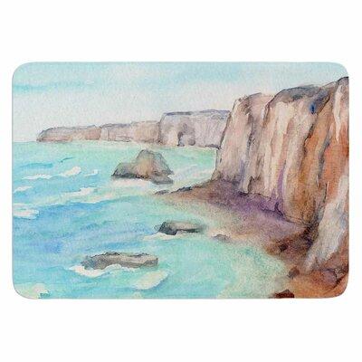 Cyndi Steen Cliffs at Normandie Memory Foam Bath Rug