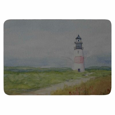 Cyndi Steen Sankaty Lighthouse Memory Foam Bath Rug