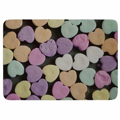 Cristina Mitchell Candy Love Memory Foam Bath Rug