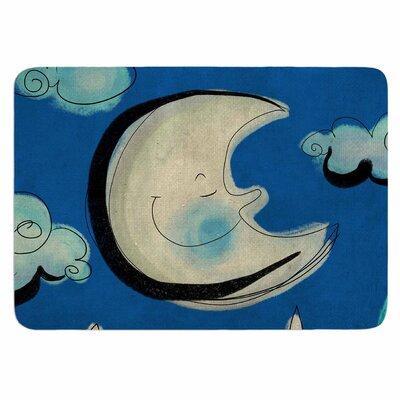 Carina Povarchik Moon Memory Foam Bath Rug