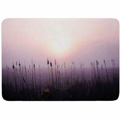 Angie Turner Sunrise Cattails Memory Foam Bath Rug