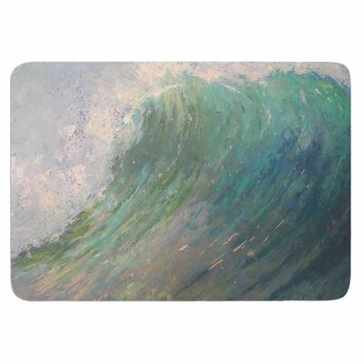 Carol Schiff Wall of Water Memory Foam Bath Rug