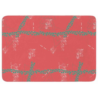 Love Midge Bold Geometric Memory Foam Bath Rug