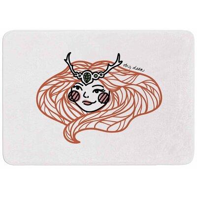 Busy Bree Oh, Deer Memory Foam Bath Rug