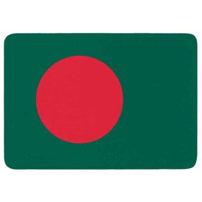 Bruce Stanfield Flag of Bangladesh Memory Foam Bath Rug
