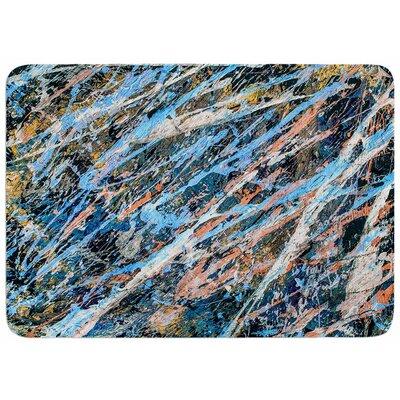 Bruce Stanfield Cobalt One Memory Foam Bath Rug