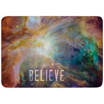 Bruce Stanfield Orion Nebula Believe Memory Foam Bath Rug