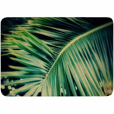 Angie Turner Palm Frond Memory Foam Bath Rug